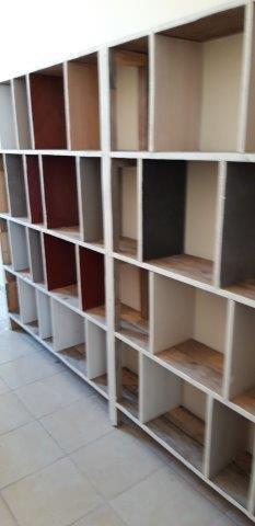 Erstes Wollregal / first wool shelf